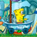 Racing Game: Spongebob's Bathtime Burnout