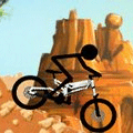 Stickman Downhill Racing Game