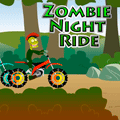 Zombie Night Ride Racing Game