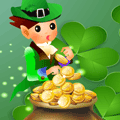 St. Patrick's Day Spot the Difference Puzzle Game