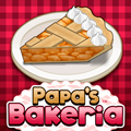 Papa's Bakeria Time Management Game