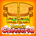 Papa's Cheeseria Time Management Game
