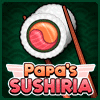 Papa's Sushiria Online Time Management Game