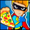 Online Cooking Game: Super Hero Pizza