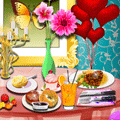 Romantic Valentine's Dinner Online Game
