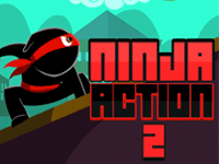 Ninja Action 2 Mobile Game