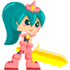Princess GoldBlade Online Action Game