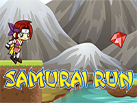 Samurai Run Mobile Game
