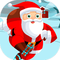 Action Game: Santa on Skates
