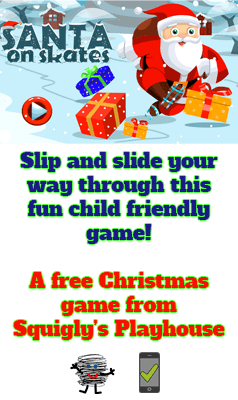 Santa's wearing skates and he's trying to collect all the Christmas candy. Help him avoid obstacles and traps in this fun Christmas game for everyone. This game is desktop and mobile friendly!