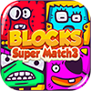 Blocks Super Match 3 Online Puzzle Game