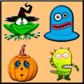 Halloween Match Up Online Puzzle Game