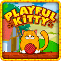 Playful Kitty Puzzle Game