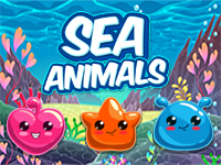 Sea Animals Puzzle Mobile Game