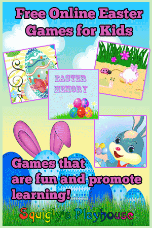 Easter games for kids that are fun and promote learning.