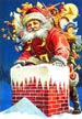 Santa at the Chimney Jigsaw Puzzle