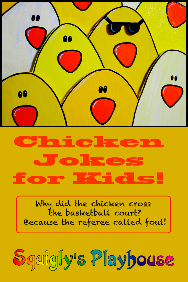 Funny Chicken Jokes for Kids | Squigly's Playhouse