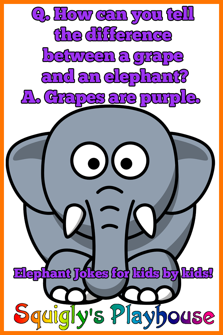 Funny elephant jokes for kids