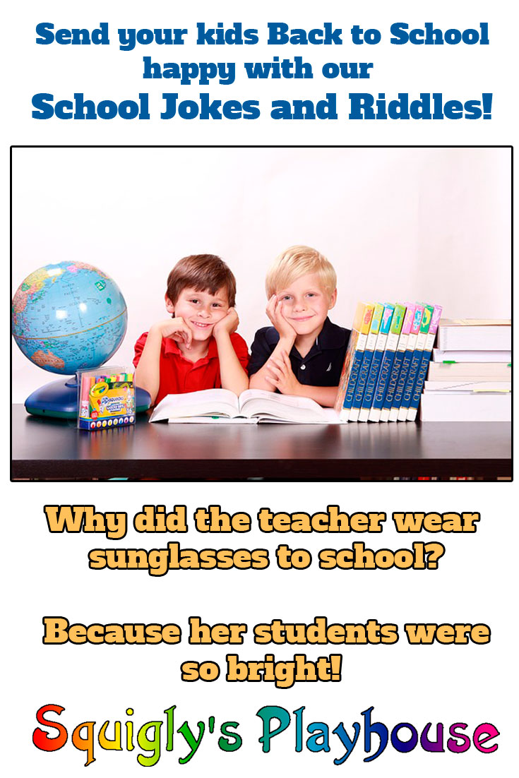 Funny back to school jokes and riddles for kids, by kids!