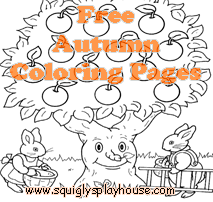 Free printable autumn coloring page for kids. Celebrate the season and the holidays of autumn with these coloring pages. Halloween and Thanksgiving coloring pages too!